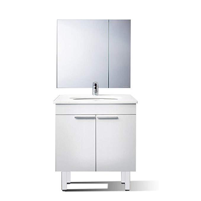 Bộ tủ sang trọng cho phòng tắm (800cm) MK80 + 0701 + VO7