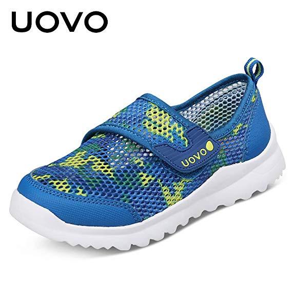 Giày thể thao trẻ em dạng vải lưới UOVO