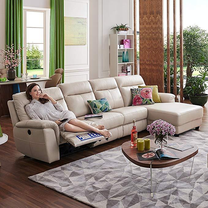 Sofa cao cấp loại hạng nhất Chihuahua , hình chữ L