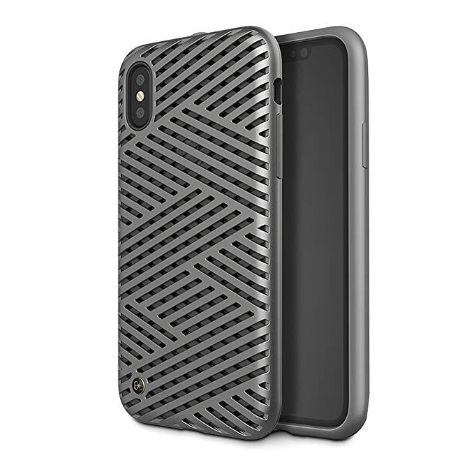 Ốp lưng điện thoại iPhone X Mini Titanium Rỗng KAISER II 5.8