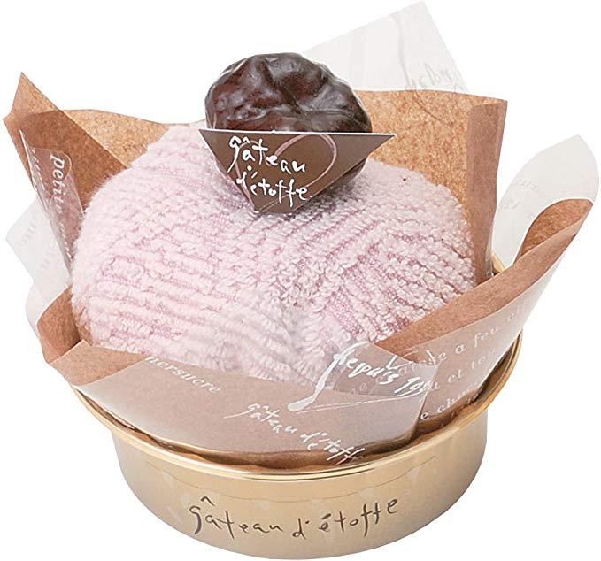 Bánh Khăn Gatoedo Meng Brown (Khăn Khăn Lớn × 1) Màu Hồng