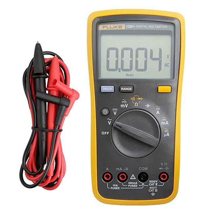 Fluke Digital Multimeter F15B + Đồng hồ đo dòng điện thế