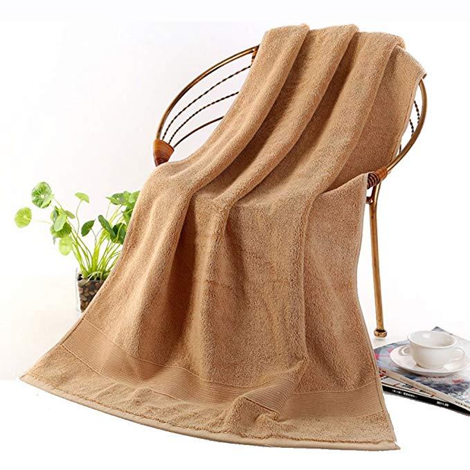 Zhuo Shang Continental khăn tắm bông [tinh khiết bông 70x140 cm tăng dày] khách sạn năm sao loạt bôn