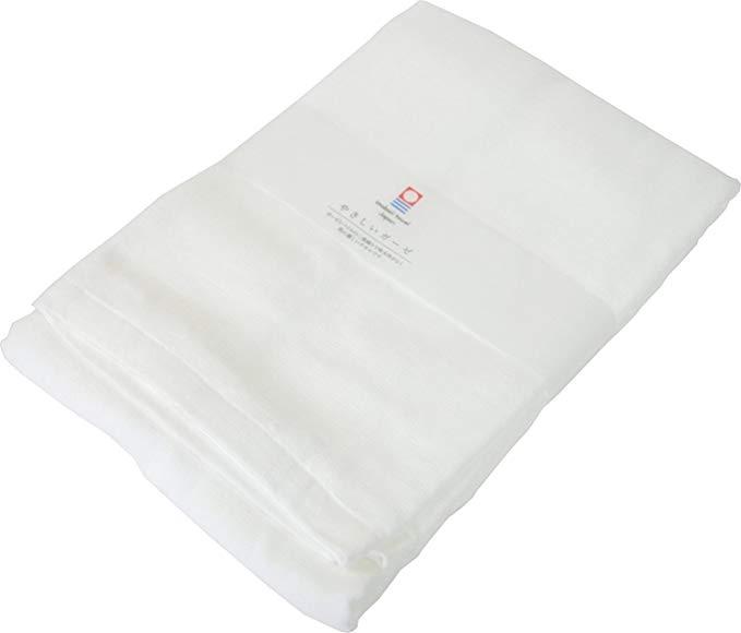 Khăn tắm Imabari Khăn mặt gạc nhẹ Gạc nước Hấp nhanh Gạc trắng Khoảng 70 × 130cm