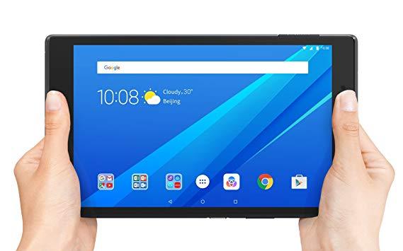 Lenovo Tab 4, máy tính bảng Android 4 inch, bộ xử lý lõi tứ, 1,4 GHz, bộ nhớ 16 GB, SLATE đen, za2b0