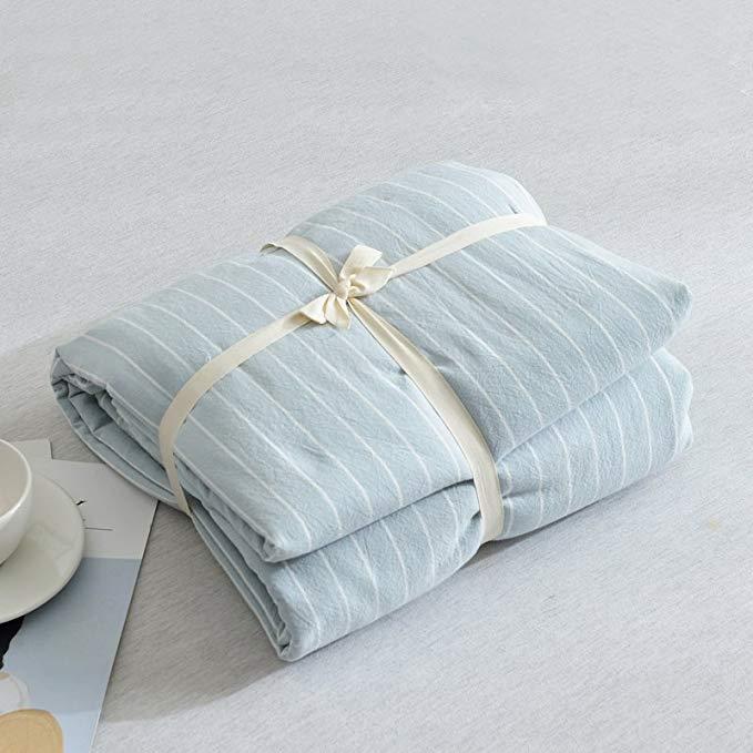 Bông rửa bông bốn mảnh Nhật Bản truy cập với cùng một đoạn A nude ngủ siêu mềm da [12 màu tùy chọn]