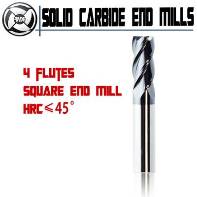 20*100, WEIX bài vật liệu hợp kim thép vôn - fram Đức toàn bộ 45 ° 2 / 4 cạnh lập máy cắt, 2 sáo