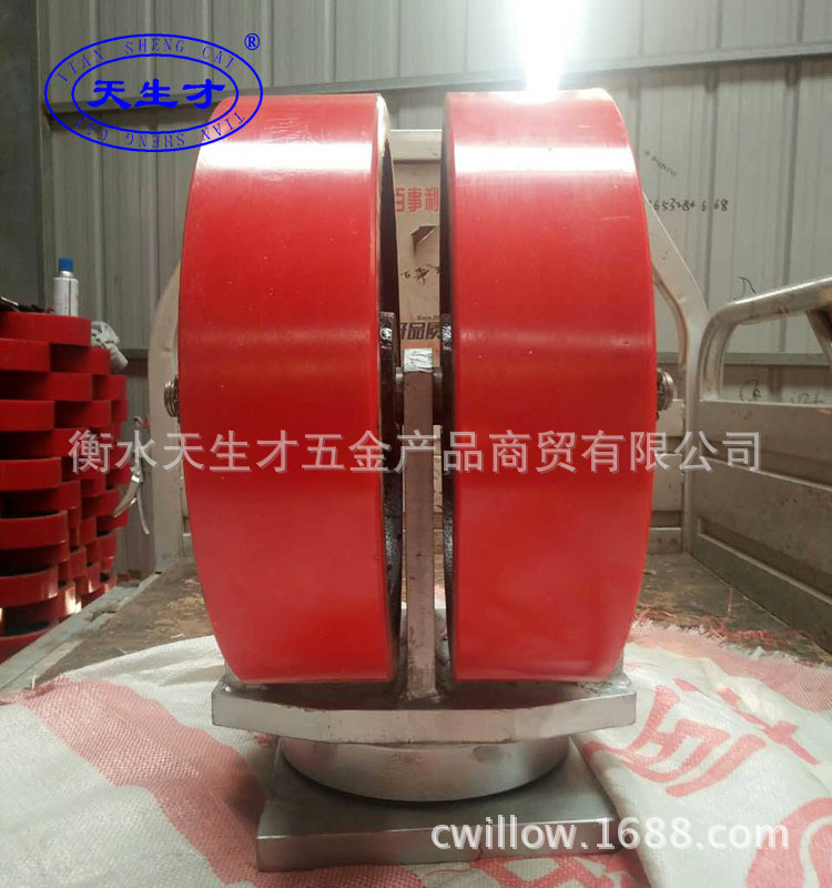 Cung ứng caster 16 inch Caster cân nó 10 tấn công siêu hạng nặng không Caster Caster