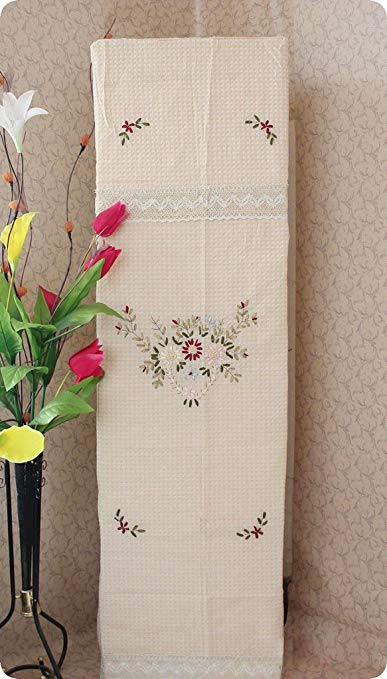 Shangpin House Trung Quốc-phong cách ribbon thêu stereo tủ điều hòa không khí bìa Tủ điều hòa không