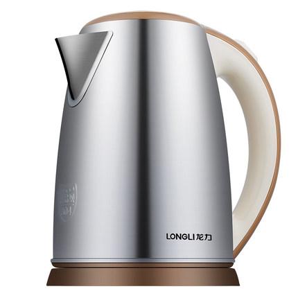 Longli LL-8602 ấm đun nước điện 1.8 lít 304 thép không gỉ hộ gia đình tự động tắt nguồn chống khô ấm