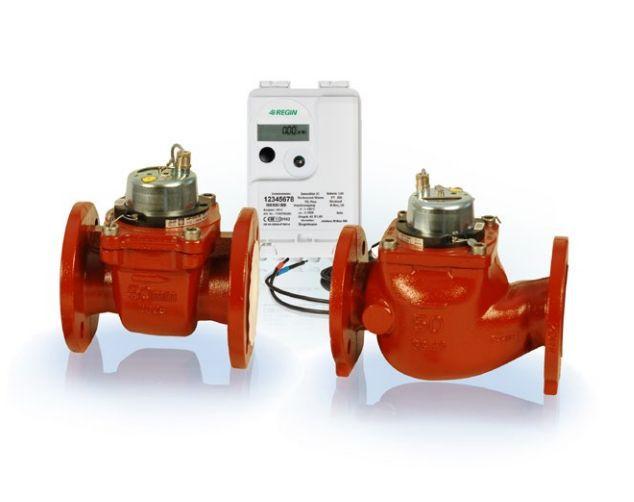 REGIN Brand WSTH80-40-CR-MPI Frank đo lưu lượng kiểm soát lượng năng lượng kết nối điều hòa không kh
