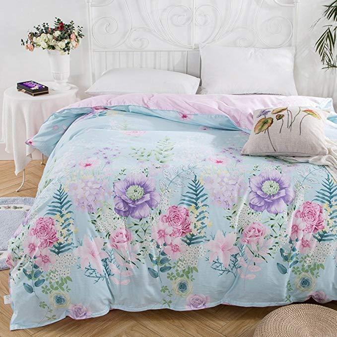 Xanlenss Xuan Lan Shi Bông twill in quilt cover Cotton mật độ cao mật độ cao quilt cover Thân Thiện