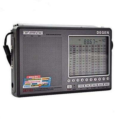 Degen / Degen DE1103 Radio Full-band người cao tuổi FM sóng ngắn di động bán dẫn có thể sạc lại