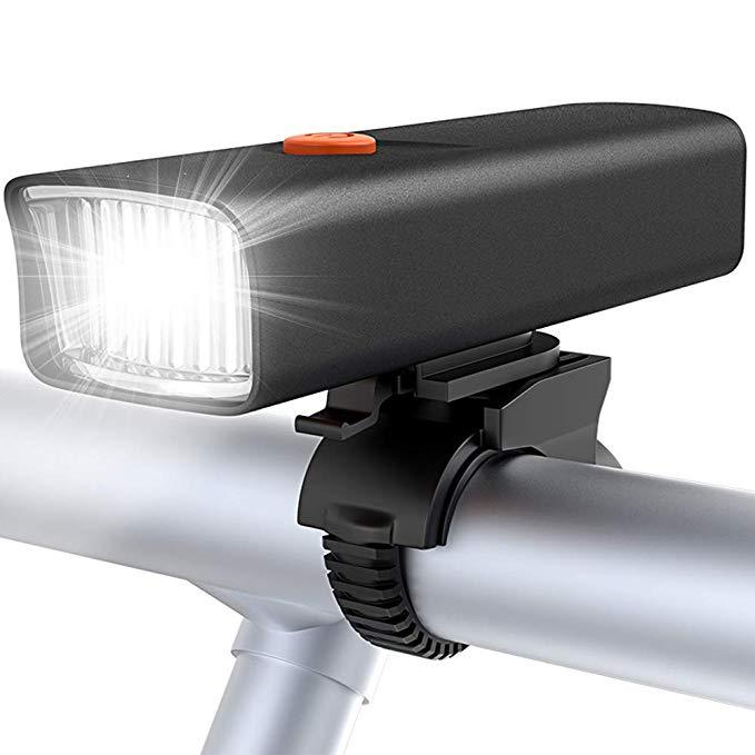 Đèn pha led xe đạp Bovon 5 chế độ sáng