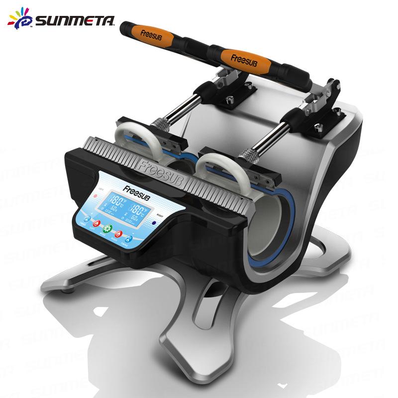 Đa chức năng máy truyền nhiệt màu thay đổi cup máy ép nhiệt trạm đôi truyền nhiệt baking cup máy thă