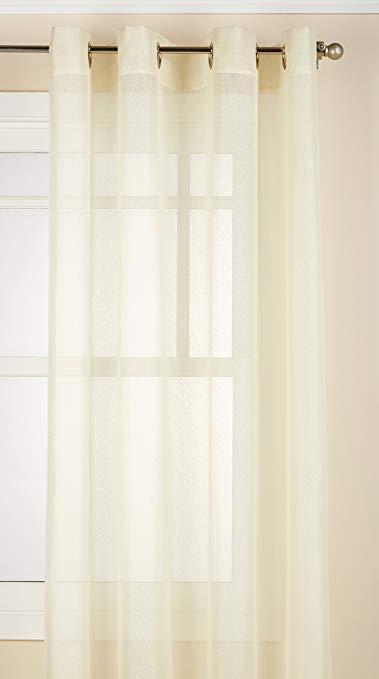 Lorraine Trang chủ Thời trang Reverie 40-inch x 25-inch Ascot Valance, vỏ trứng