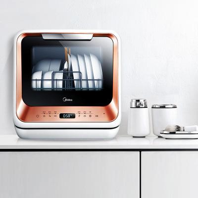 Đẹp máy rửa chén M1 home tự động máy tính để bàn nhỏ nhỏ thông minh nhúng cài đặt miễn phí khử trùng
