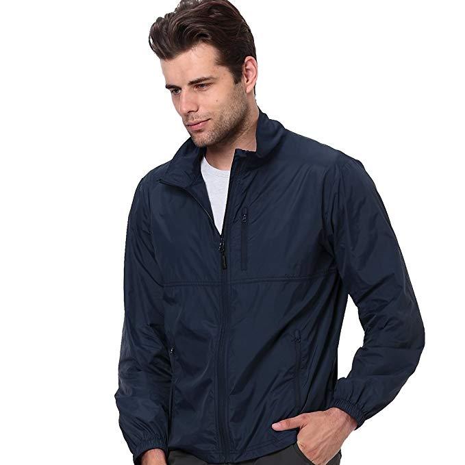 Áo khoác dù tay dài nam chống thấm nước, nhanh khô