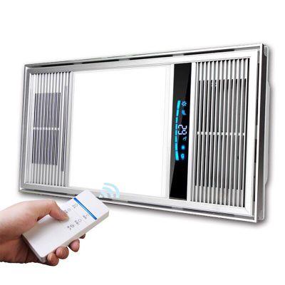Trần đóng gói Yuba ấm áp không khí bather Dual-core điện gốm PTC nóng không khí Yuba phòng tắm sưởi
