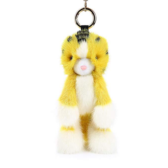Đóng gói chết thỏ Nước chồn GUARDYA.L Truy Cập với cùng một đoạn Keychain mặt dây chuyền Meng Meng t