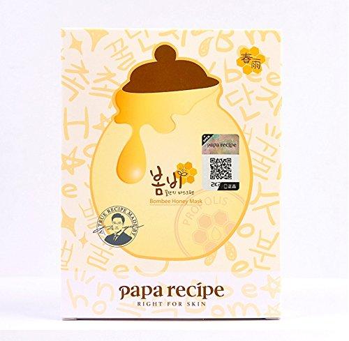 Papa công thức mùa xuân mưa mật ong mặt nạ 25g * 10 (in) (bán) (đóng gói ngẫu nhiên)