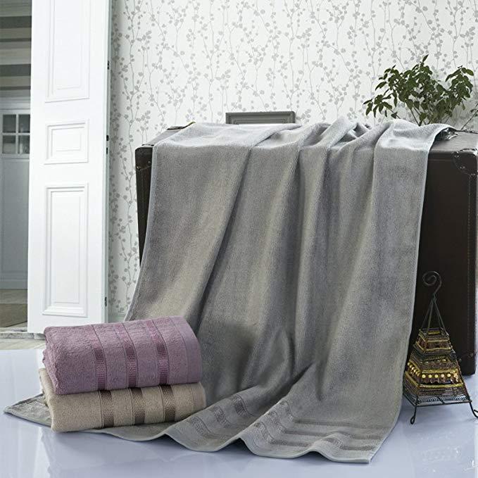 J.H.Longess Gốc năm sao khách sạn 400 gam sợi tre khăn dành cho người lớn dày tăng mùa đông vài bọc