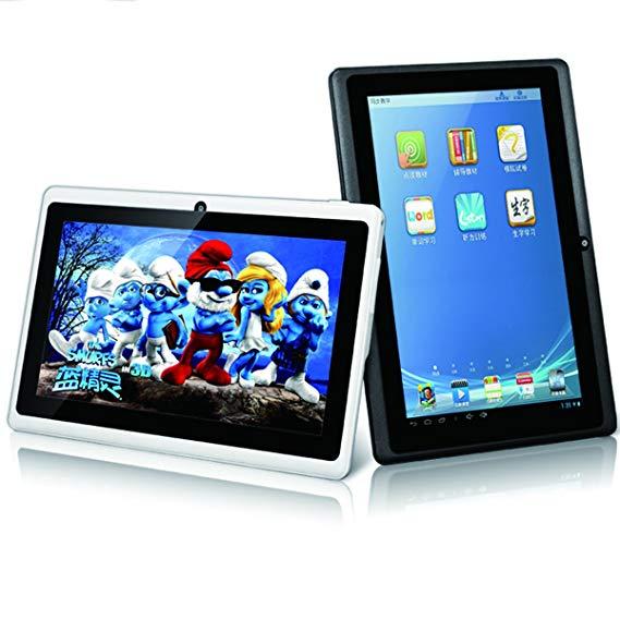 Máy tính bảng Smart city màn hình 7 inch A3+ giúp bé học ngoại ngữ, nghe nhạc, giải trí