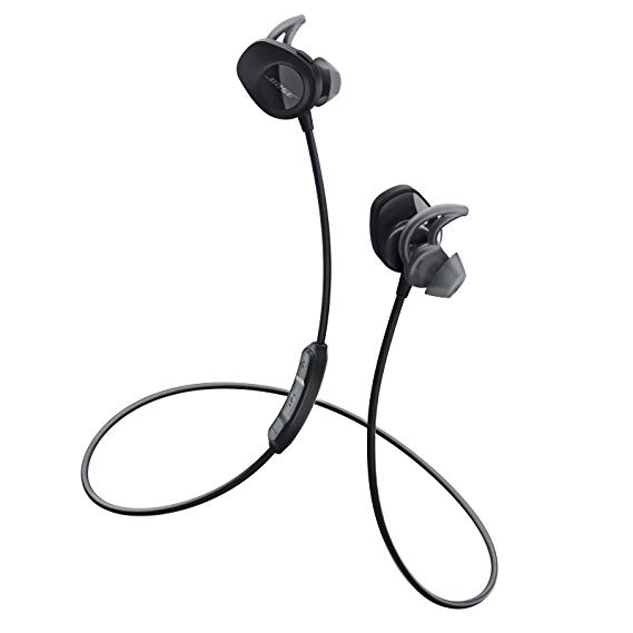 Tai nghe không dây Bose SoundSport - Tai nghe không dây màu đen Tai nghe Bluetooth Tai nghe thể thao
