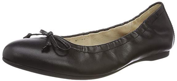 Giày ballet màu đen trơn Gabor