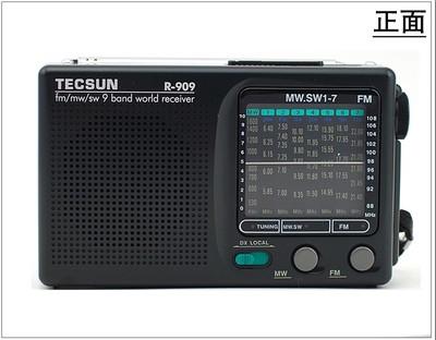 Tecsun / Desheng R-909 Pocket toàn Đài phát thanh 909 Radio
