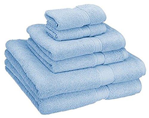 Bộ khăn trải giường cao cấp bông vải cotton Ai Cập 900g Bộ khăn trải giường 6 mảnh