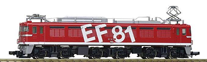 Mô hình đường sắt và đầu máy điện màu đỏ Tomytec