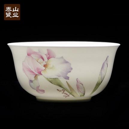Taishan sứ xương tấm china trái cây sáng tạo tấm gốm món ăn phương tây bánh bao tấm Trung Quốc tấm t