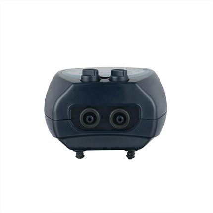 Haley ACO-6604 câm lỗ kép có thể điều chỉnh bơm oxy sục khí bơm fish tank oxy hóa cá và oxy bơm aqua