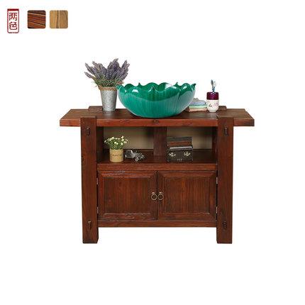 Tủ phòng tắm thiết lập kết hợp tân cổ điển Trung Quốc retro tủ phòng tắm thiết lập cá tính lưu vực v