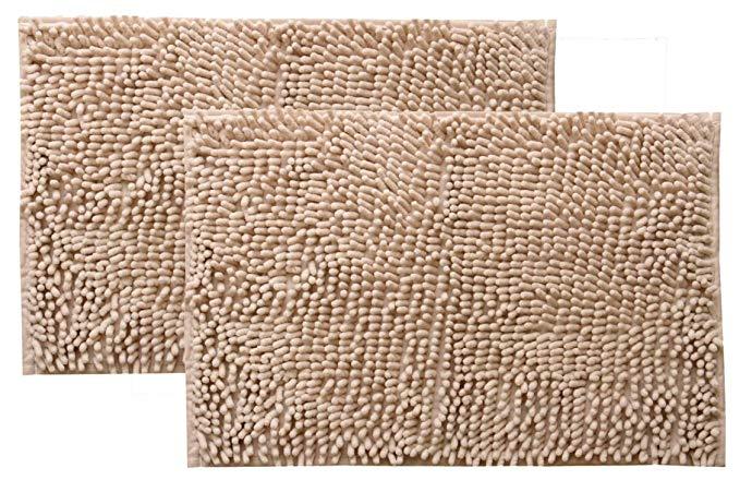 Phòng tắm chống trượt mat phòng tắm mat thấm nước và nhanh chóng làm khô màu rắn