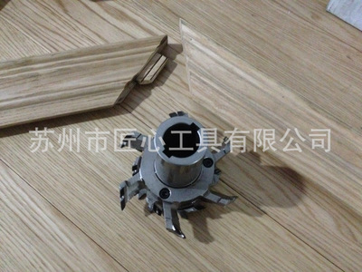 Cánh cửa gỗ thật đấy cương PCD 45 độ xiên góc tròn nối chuyên dụng đặt con dao JXK