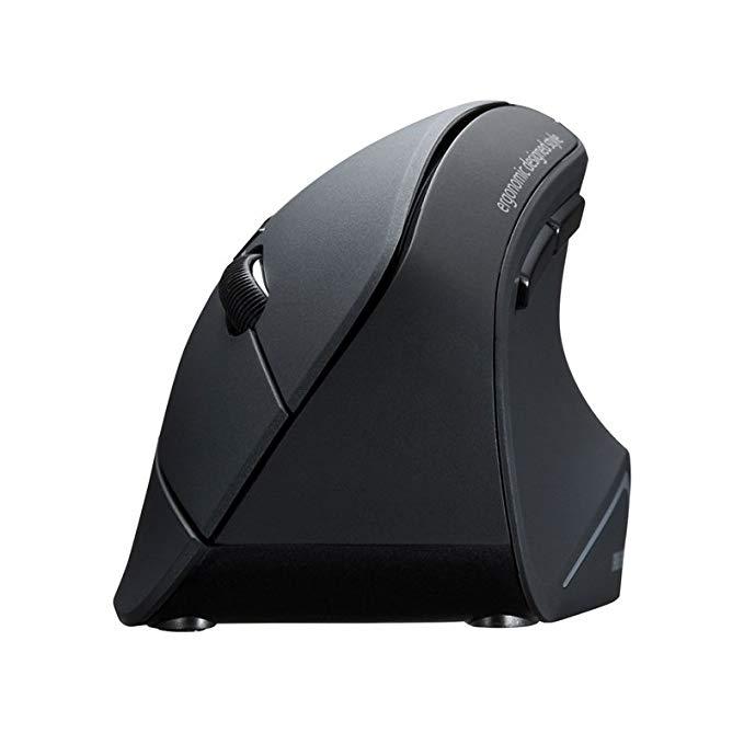 SANWA CUNG CẤP Ngành Công Nghiệp Núi Ergonomic Vertical Bluetooth Chuột Bluetooth v3.0 Blu-ray LED Đ