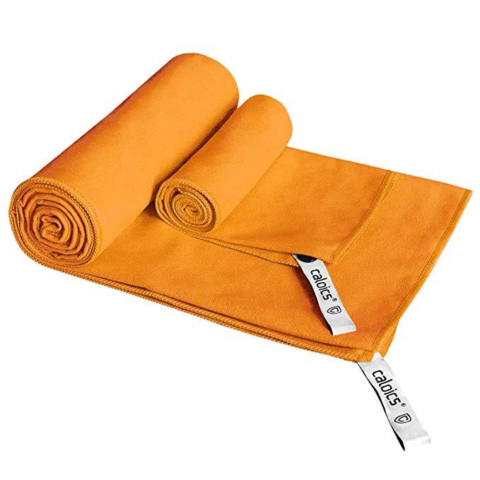 Khăn sợi nhỏ khăn lau du lịch nhanh chóng (khăn tắm XL 132.1 x 81.3 cm tay miễn phí mặt khăn 40.64 c