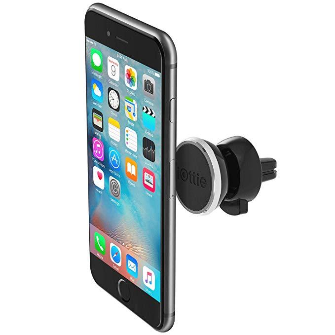 iOttie iTap từ cửa thoát khí xe người giữ điện thoại navigation bracket đen 360 bằng rotation loại p