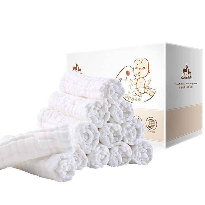 Miếng Lót Sợi cotton kháng khuẩn Có Thể Giặt lại .