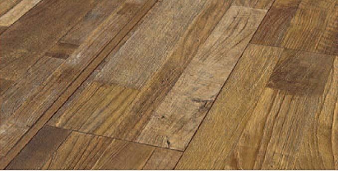 Finesse Flooring 1195192 Manila RGB 4V rãnh nổi hệ thống, nâu, 9 mảnh bộ