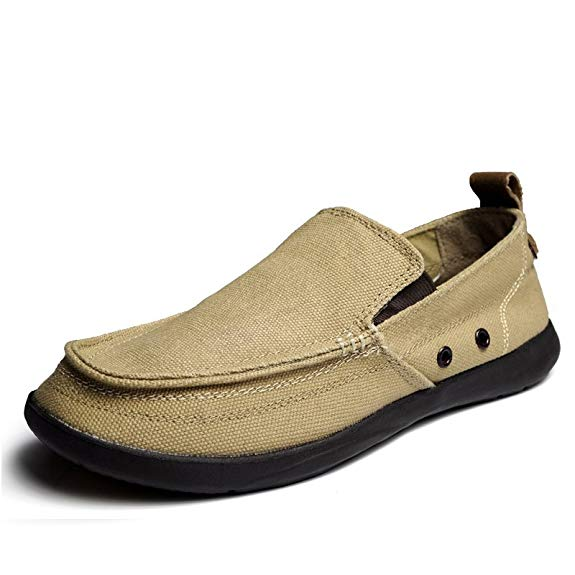 Giày mọi nam chất liệu vải thoáng khí jiangtian