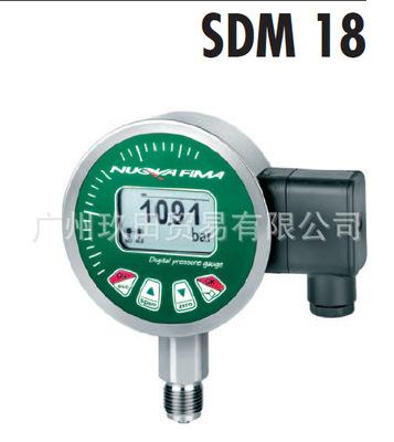 High pressure pressure gauge sensor for homogenizer