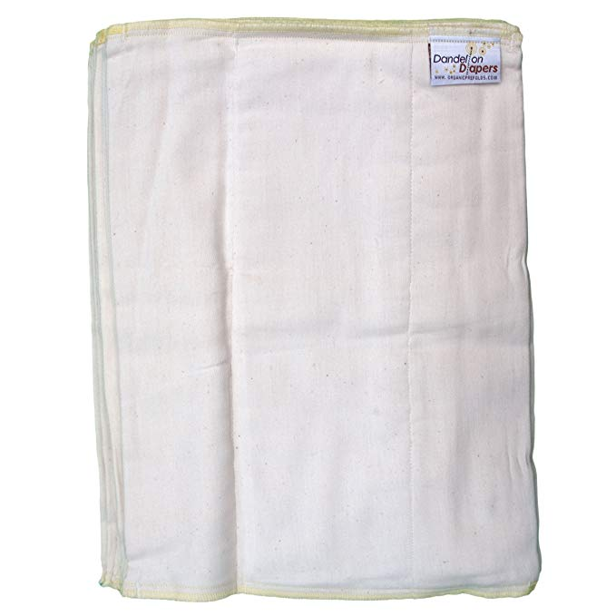 Dandelion Diaper - khăn vải Cotton hữu cơ cho bé .