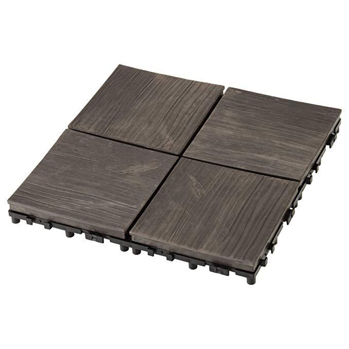 IRIS OHYAMA ván sàn gỗ kem đánh răng màu xám PWD-300