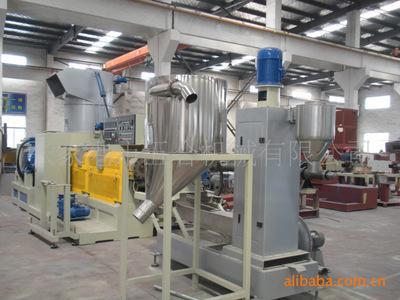 Nhà sản xuất HS-120 phế nhựa máy PE dòng sản phẩm vật liệ