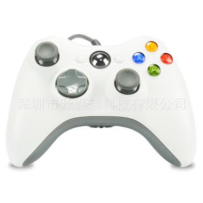Nhà máy trực tiếp XBOX360 trò chơi cáp điều khiển 360 máy chủ xử lý màu đen và trắng xuất hiện ban đ
