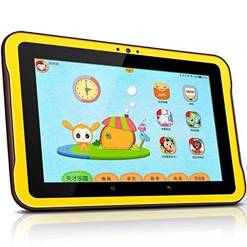 Máy tính bảng XTC K1 màu vàng đen cho trẻ học ngoại ngữ, nghe nhạc