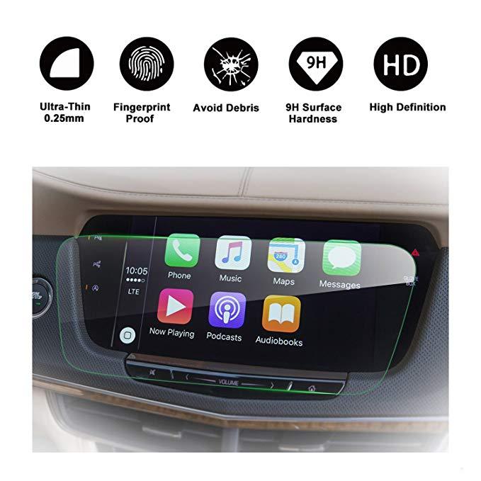 RUIYA 2015-2017 Cadillac CT6 Trong-Dash Screensaver, HD trong suốt tempered glass xe navigation bảo